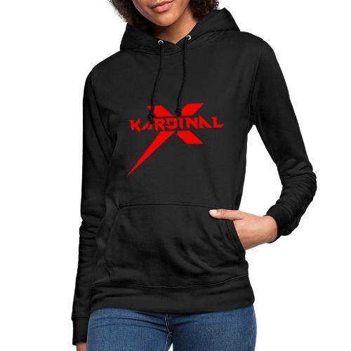 Kardinal X Logo - Women's Hoodie