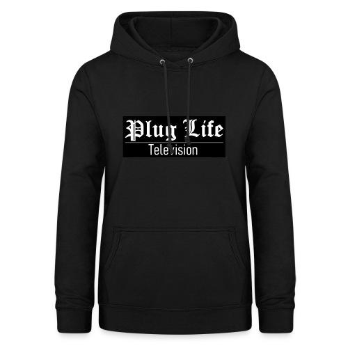 Plug Life Television Logo - Women's Hoodie