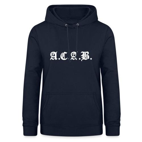 A.C.A.B. - Naisten huppari