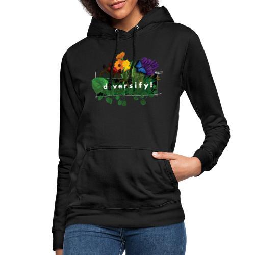 diversify! - Frauen Hoodie