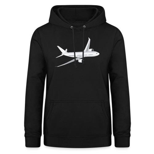 Flugzeug - Frauen Hoodie