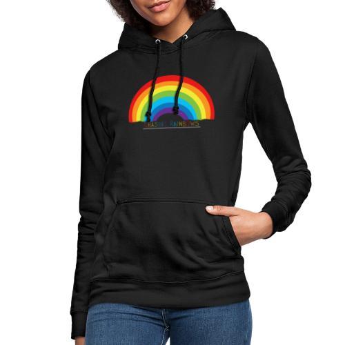 chasing rainbows - Sudadera con capucha para mujer