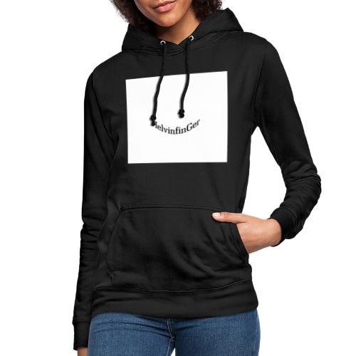 HilvinfinGer - Sudadera con capucha para mujer