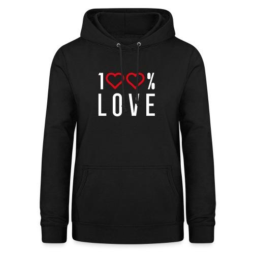 100 LOVE - Women's Hoodie