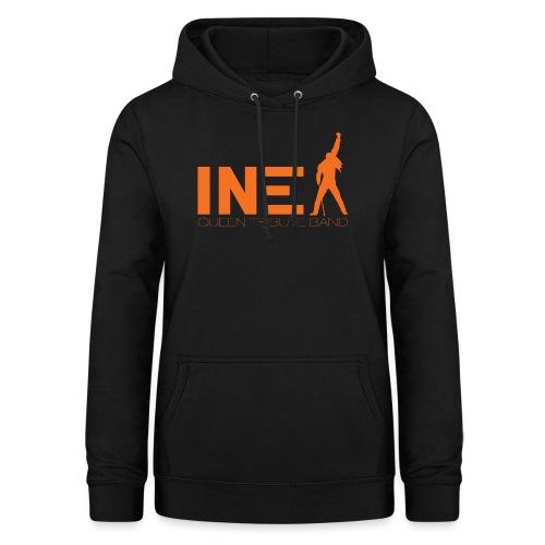 New Logo INEX sans fond orange QUEEN TRIBUTE BAND - Sweat à capuche Femme