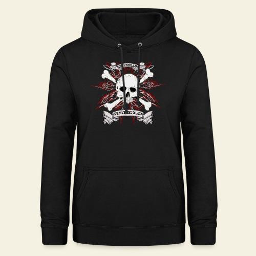 skull - Dame hoodie
