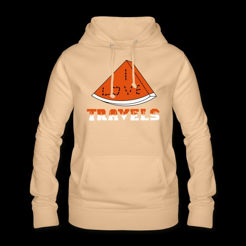 I LOVE TRAVELS FRUITS for life - Women's Hoodie