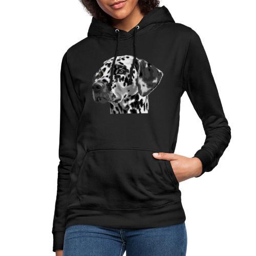 dog - Sudadera con capucha para mujer
