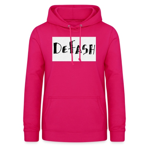 Defash1-png - Sweat à capuche Femme