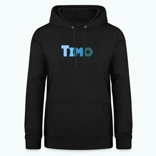 Timo in blauwe tinten - Vrouwen hoodie