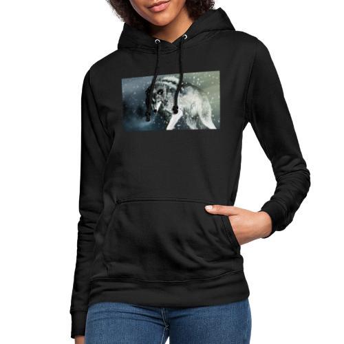 Wolf - Sudadera con capucha para mujer