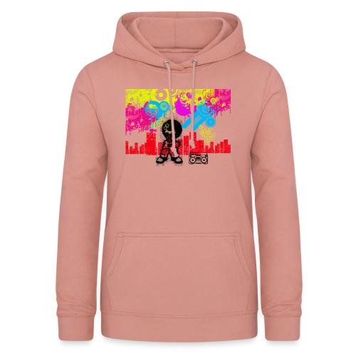 Magliette personalizzate bambini Dancefloor - Felpa con cappuccio da donna