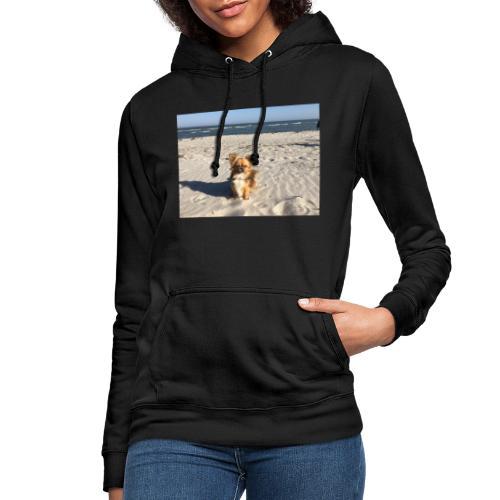 Tina am Strand - Frauen Hoodie
