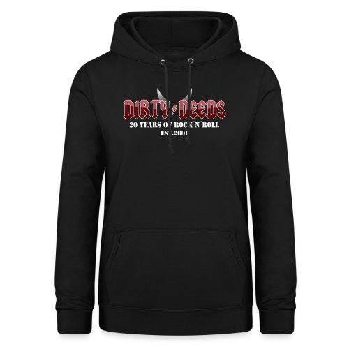 Dirty Deeds 20 Anniversary Druck f dunkel - Frauen Hoodie