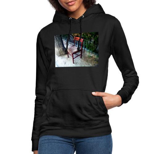 silla - Sudadera con capucha para mujer
