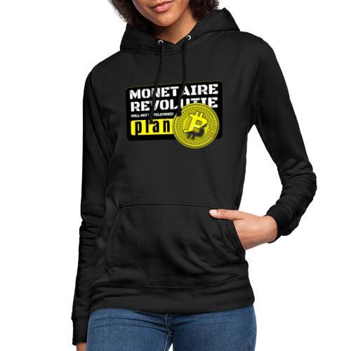 Bitcoin Revolutie - Vrouwen hoodie