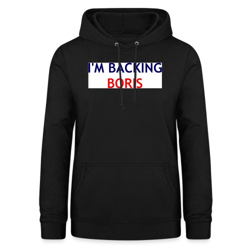 Backing Boris - Boxer Shirts - Women's Hoodie