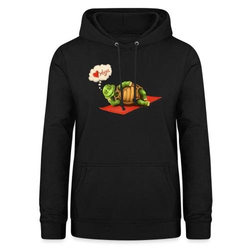 Love-Yoga Turtle - Frauen Hoodie