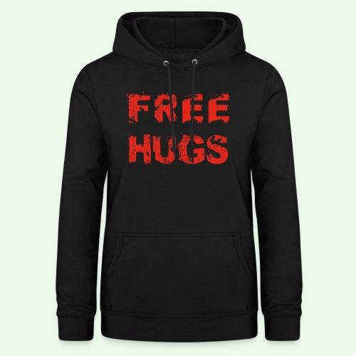 Free Hugs // Flirten // T-Shirt - Frauen Hoodie