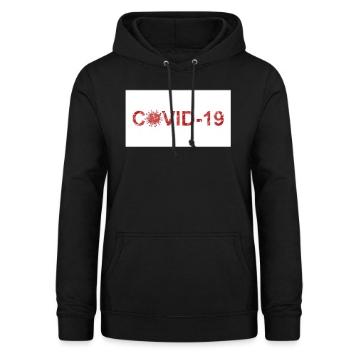 covid 19 - Sudadera con capucha para mujer