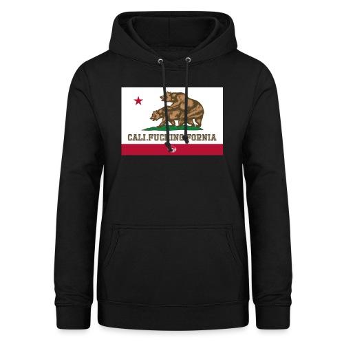 California, Californiano, Fuck, Orso - Felpa con cappuccio da donna