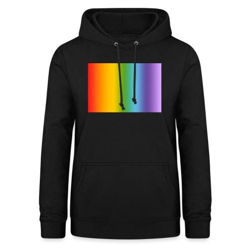 Hintergrund Regenbogen soft - Frauen Hoodie