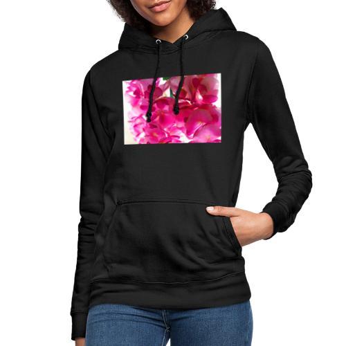 Cotton flowers. - Sudadera con capucha para mujer