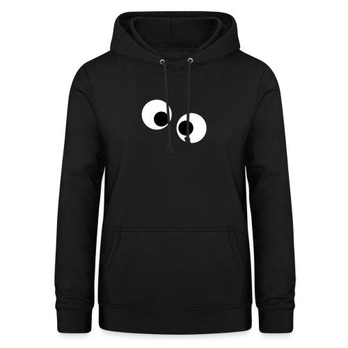 silly eyes - Vrouwen hoodie
