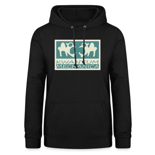 Kwantum logo 2 - Vrouwen hoodie