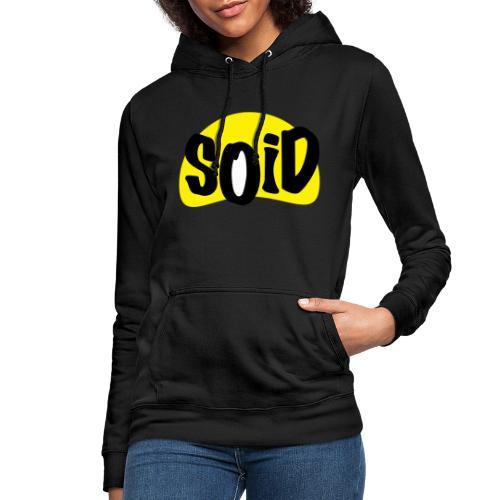 logo - Sudadera con capucha para mujer