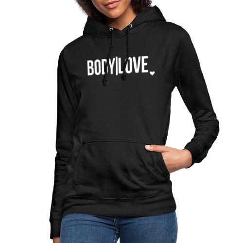Bodylovewhite klein - Frauen Hoodie