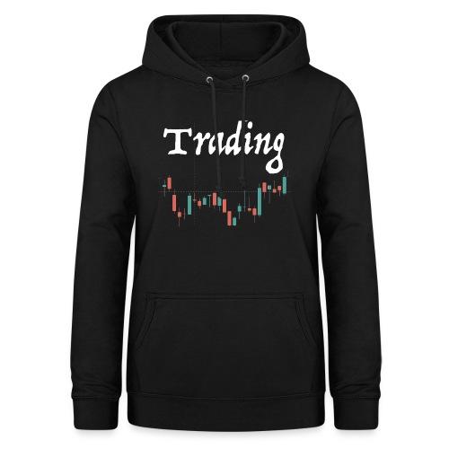 Trading lovers T-shirt - Felpa con cappuccio da donna
