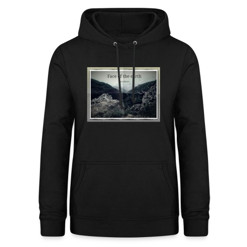 face of the earth - Vrouwen hoodie