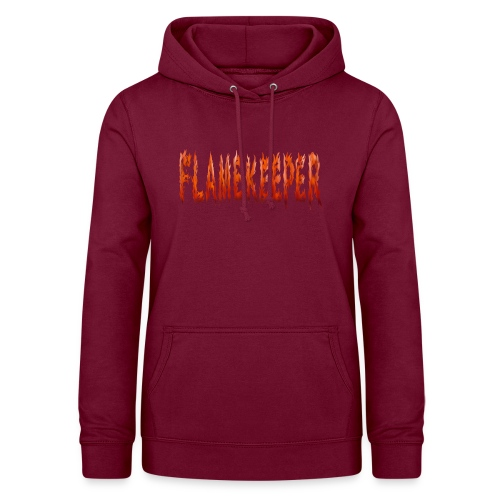 flamekeeper name logo - Vrouwen hoodie