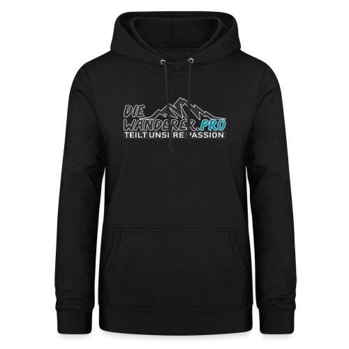 Die Wanderer Logo Shirt - Frauen Hoodie