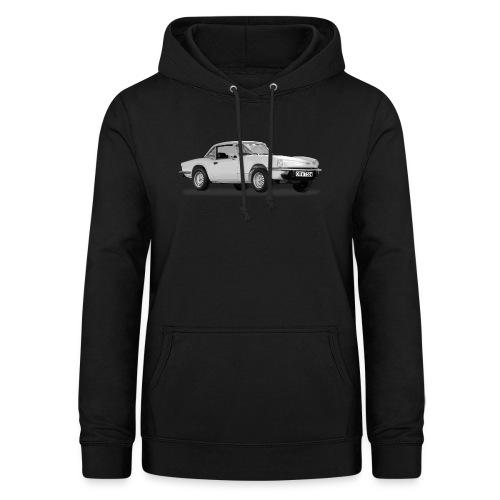 spitfire car - Sudadera con capucha para mujer