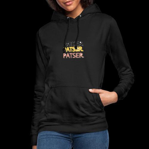 PATSER GOUD - Vrouwen hoodie
