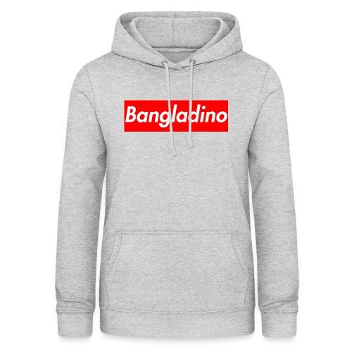 Bangladino - Felpa con cappuccio da donna