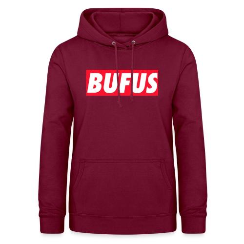 BUFUS - Felpa con cappuccio da donna