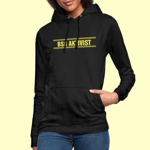 BSG Aktivist Schriftzug - Frauen Hoodie
