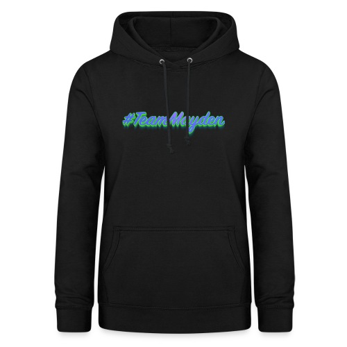 #TeamMayden - Sudadera con capucha para mujer