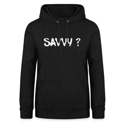 savvy? - Vrouwen hoodie