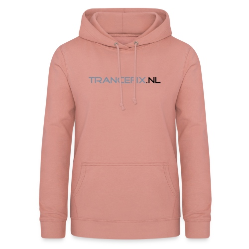 trancefix text - Women's Hoodie