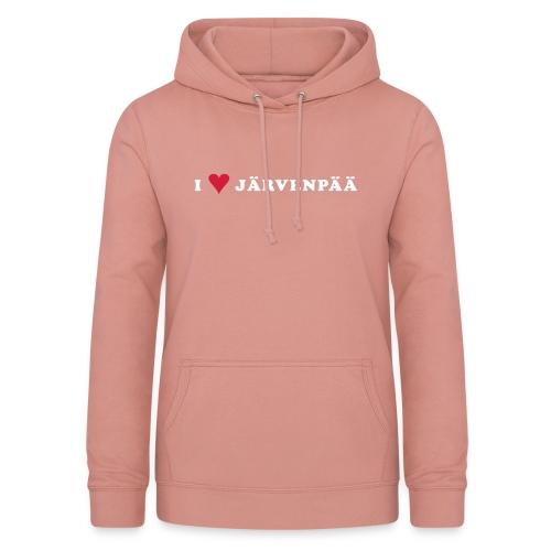 I LOVE JARVENPAA - Naisten huppari