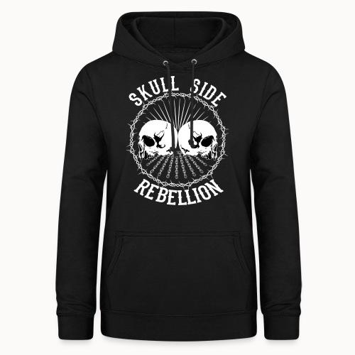 Skull side rebellion - Frauen Hoodie