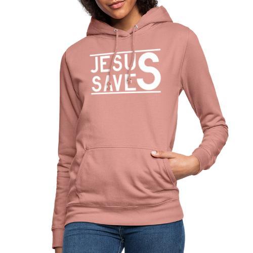 Jesus Saves - Frauen Hoodie