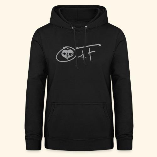 O4F GRIGIO - Felpa con cappuccio da donna
