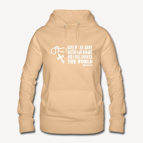 Give me an Army saying the Rosary - Women's Hoodie