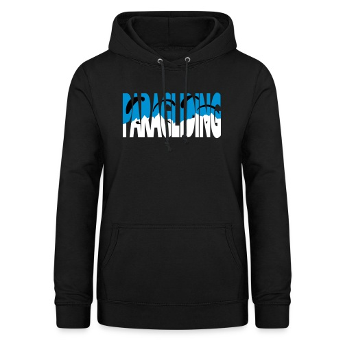 Paragliding Letters - Women's Hoodie