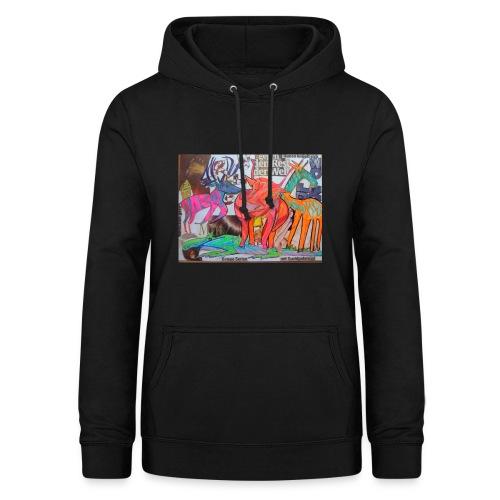 Die Schweiz und der Zoo Zürich Stripparade - Frauen Hoodie